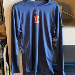 Nike Illini Dri-Fit long sleeved shirt